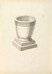 Hinton Charterhouse, church font